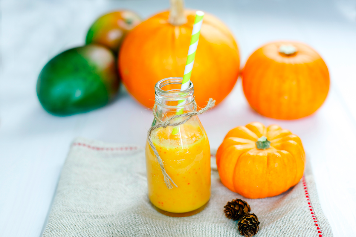 Рецепт сока тыквы с апельсинами