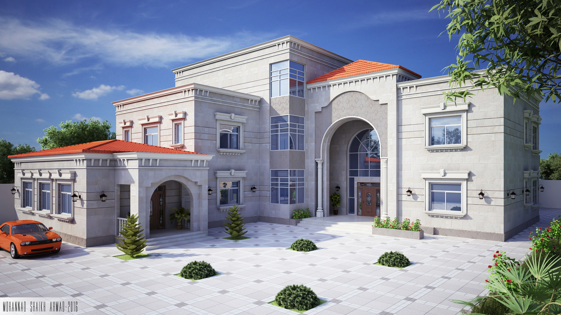 Private Villa Classic u0026 simple design